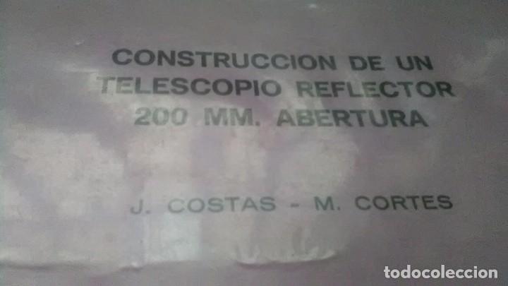 Libros de segunda mano: Construcción telescopio - Foto 4 - 206812483