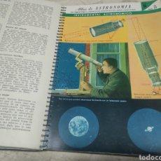 Libros de segunda mano: ATLAS DE ASTRONOMÍA IGNACIO PUIG 1961 PRIMERA EDICIÓN. Lote 206957987