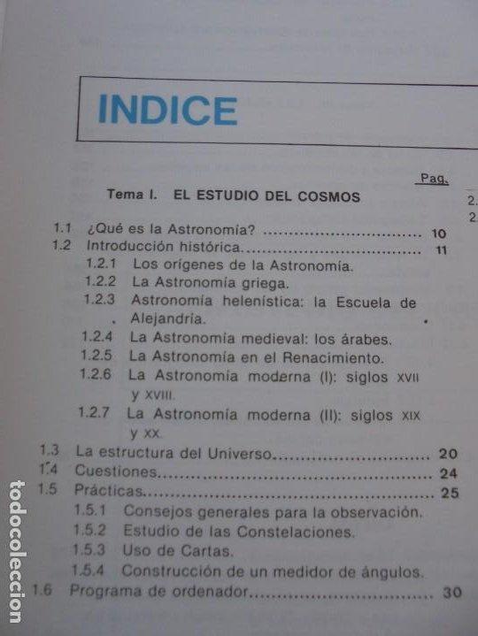 Libros de segunda mano: CURSO DE ASTRONOMIA TEORIA Y PRACTICA. J. FABREGAT. M. GARCIA. R.SENDRA. EDITORIAL ECIR 1988. - Foto 8 - 207047708