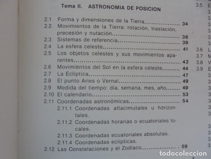 Libros de segunda mano: CURSO DE ASTRONOMIA TEORIA Y PRACTICA. J. FABREGAT. M. GARCIA. R.SENDRA. EDITORIAL ECIR 1988. - Foto 9 - 207047708