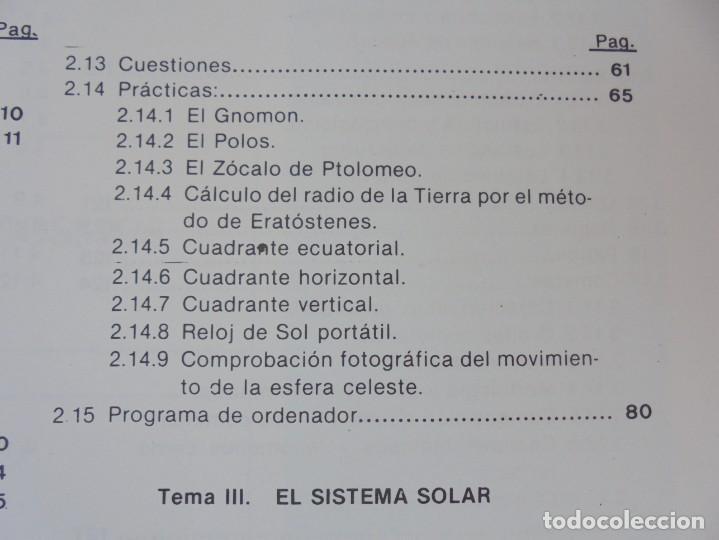 Libros de segunda mano: CURSO DE ASTRONOMIA TEORIA Y PRACTICA. J. FABREGAT. M. GARCIA. R.SENDRA. EDITORIAL ECIR 1988. - Foto 10 - 207047708