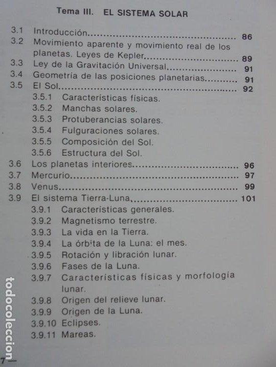 Libros de segunda mano: CURSO DE ASTRONOMIA TEORIA Y PRACTICA. J. FABREGAT. M. GARCIA. R.SENDRA. EDITORIAL ECIR 1988. - Foto 11 - 207047708