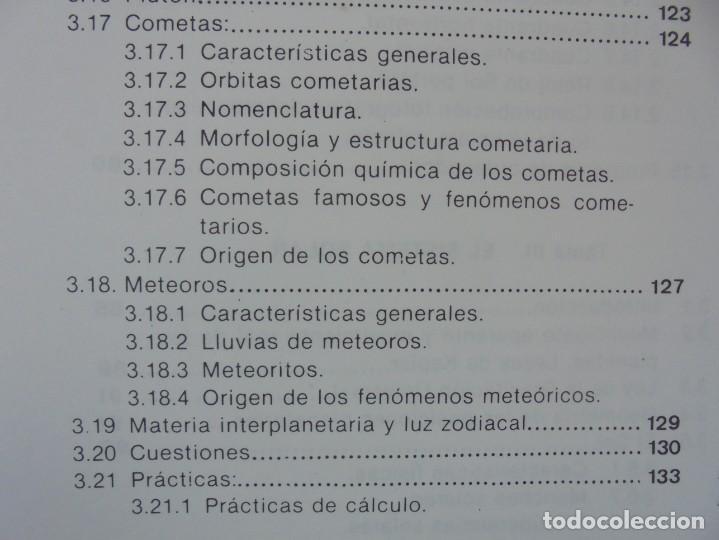 Libros de segunda mano: CURSO DE ASTRONOMIA TEORIA Y PRACTICA. J. FABREGAT. M. GARCIA. R.SENDRA. EDITORIAL ECIR 1988. - Foto 13 - 207047708