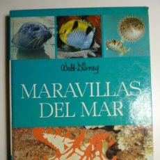 Libros de segunda mano: MARAVILLAS DEL MAR. WALT DISNEY. EDICIONES GAISA, S.L. 1971.. Lote 207656478