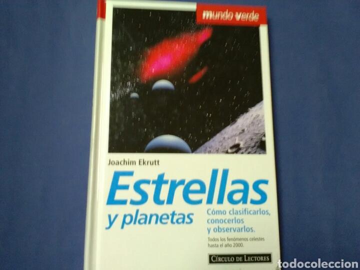 ESTRELLAS Y PLANETAS JOACHIM EKRUTT . CIRCULO DE LECTORES (Libros de Segunda Mano - Ciencias, Manuales y Oficios - Astronomía)