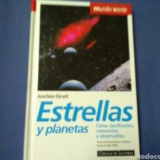 Libros de segunda mano: ESTRELLAS Y PLANETAS JOACHIM EKRUTT . CIRCULO DE LECTORES. Lote 208585292