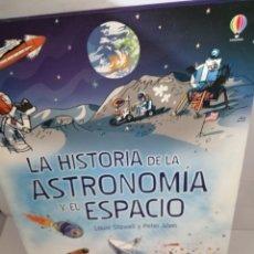 Libros de segunda mano: LA HISTORIA DE LA ASTRONOMÍA Y EL ESPACIO. Lote 208690110