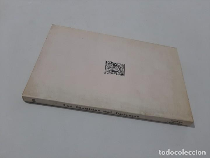 Libros de segunda mano: Las medidas del universo/ tomas hormigo/ editorial marfil 1985 - Foto 4 - 208770247