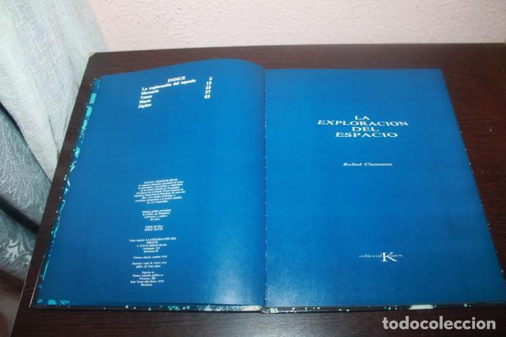 Libros de segunda mano: LA EXPLORACION DEL ESPACIO POR RAFAEL CLEMENTE - Foto 2 - 208882473