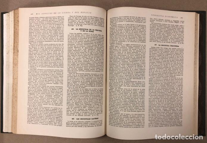 Libros de segunda mano: MIL ASPECTOS DE LA TIERRA Y DEL ESPACIO (PANORAMA GENERAL DE LA CREACIÓN). 2 TOMOS. (1949). - Foto 11 - 209172240