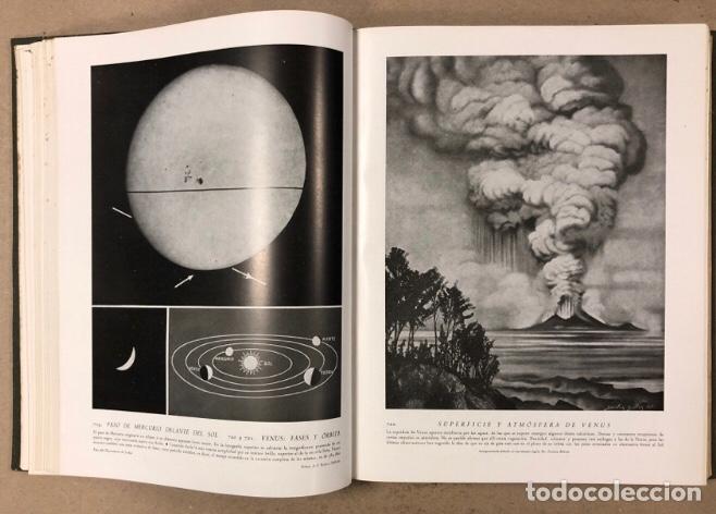 Libros de segunda mano: MIL ASPECTOS DE LA TIERRA Y DEL ESPACIO (PANORAMA GENERAL DE LA CREACIÓN). 2 TOMOS. (1949). - Foto 17 - 209172240