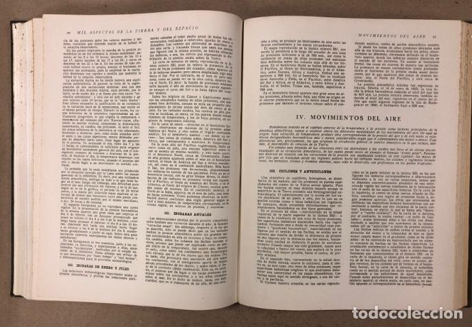 Libros de segunda mano: MIL ASPECTOS DE LA TIERRA Y DEL ESPACIO (PANORAMA GENERAL DE LA CREACIÓN). 2 TOMOS. (1949). - Foto 18 - 209172240