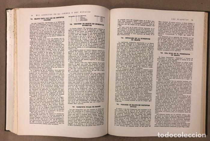 Libros de segunda mano: MIL ASPECTOS DE LA TIERRA Y DEL ESPACIO (PANORAMA GENERAL DE LA CREACIÓN). 2 TOMOS. (1949). - Foto 19 - 209172240