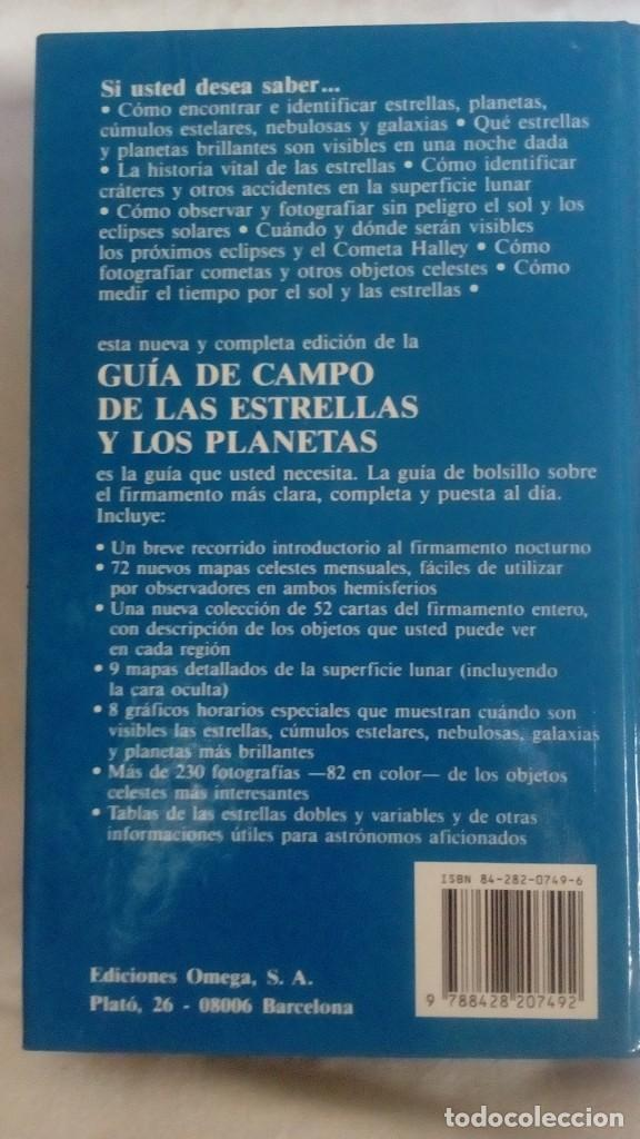 Libros de segunda mano: GUIA DE CAMPO DE LAS ESTRELLAS Y LOS PLANETAS DE LOS HEMISFERIOS NORTE Y SUR - Foto 9 - 209241620