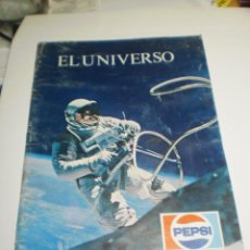 Libros de segunda mano: EL UNIVERSO. THEODOR DOLEZOL. JAIME LIBROS 1976 PEPSI. 32 PÁGINAS RÚSTICA COLOR (ESTADO NORMAL). Lote 209798258