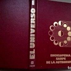 Libros de segunda mano: LIBRO EL UNIVERSO TOMO 1 ENCICLOPEDIA SARPE DE LA ASTRONOMIA. Lote 209882581