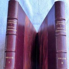 Libros de segunda mano: L-5465. TRACTAT D'ASTROLOGIA. BARTOMEU DE TRESBÉNS.2 TOMOS. BARCELONA,1957.TIRATGE LIMITAT I NUMERAT. Lote 210564682