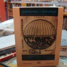 Libros de segunda mano: ASTRONOMÍA Y ASTROLOGÍA - PÉREZ JIMÉNEZ, AURELIO (ED.). Lote 210951995