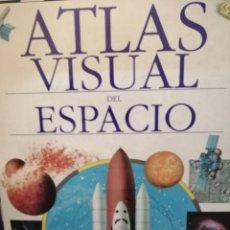 Libros de segunda mano: ATLAS VISUAL DE ESPACIO. Lote 213758797