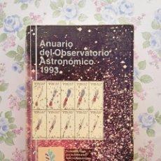 Libros de segunda mano: 1993 ANUARIO ASTRONÓMICO NACIONAL - MADRID ASTRONOMÍA. Lote 214651783