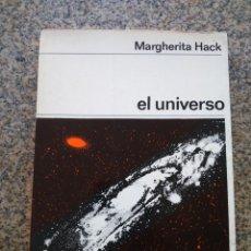 Libros de segunda mano: EL UNIVERSO -- MARGHERITA HACK -- EDITORIAL LABOR --. Lote 218523900