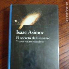 Libros de segunda mano: EL SECRETO DEL UNIVERSO - ISAAC ASIMOV.PRECINTADO.. Lote 218600452
