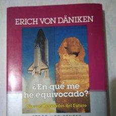 Libros de segunda mano: OTROS HORIZONTES ( ¿EN QUE ME HE EQUIVOCADO.? PRIMERA EDICION AÑO 1986. Lote 222714737