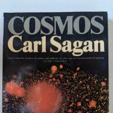 Livres d'occasion: COSMOS - CARL SAGAN - 9ª EDICION. Lote 223240453