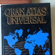 Libros de segunda mano: GRAN ATLAS UNIVERSAL DE CAROGGIO - COMPLETO 4 TOMOS - ESPECTACULAR GRAN CALIDAD. Lote 223320291