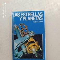 Libros de segunda mano: LAS ESTRELLAS Y PLANETAS. Lote 224800902