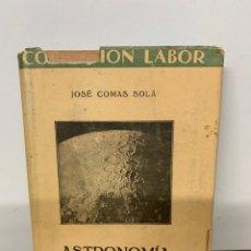 Livros em segunda mão: ASTRONOMIA, JOSE COMAS SOLA. Lote 230155335