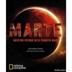 Livres d'occasion: MARTE NUESTRO FUTURO EN EL PLANETA ROJO. Lote 232005895