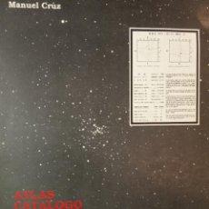 Libri di seconda mano: ÁTLAS CATÁLOGO DE CÚMULOS ABIERTOS. Lote 232222165