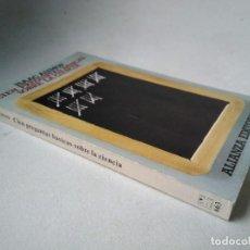 Libros de segunda mano: ISAAC ASIMOV. CIEN PREGUNTAS BÁSICAS SOBRE LA CIENCIA. Lote 232787830