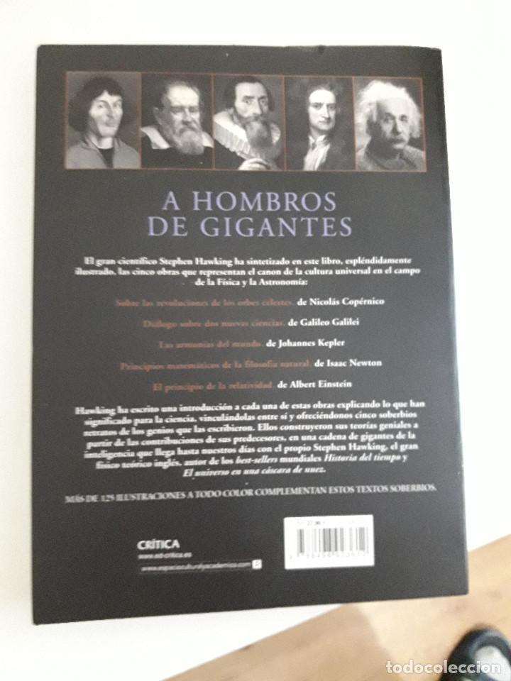 Libros de segunda mano: A HOMBROS DE GIGANTES. las grandes obras de la Fisica y la Astronomia , 2004,Stephen Hawking - Foto 2 - 236725340