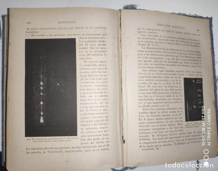 Libros de segunda mano: ASTRONOMIA (1943) - Foto 4 - 236811750