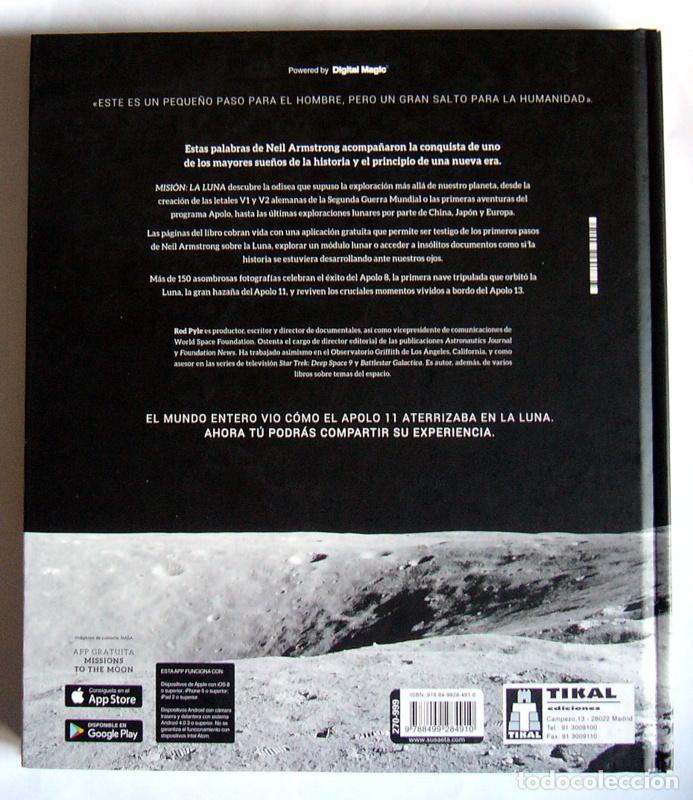 Libros de segunda mano: MISION: LA LUNA - EDICION CON MOTIVO DEL 50 ANIVERSARIO DE LA LLEGADA DEL HOMBRE A LA LUNA -ROD PYLE - Foto 7 - 236856195