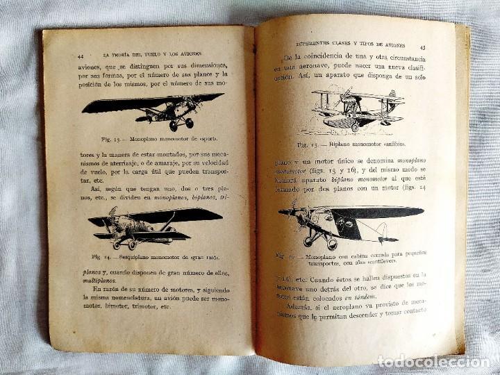 Libros de segunda mano: 1937 - ARMANGUÉ: ELEMENTOS DE AVIACIÓN - Foto 3 - 239967125