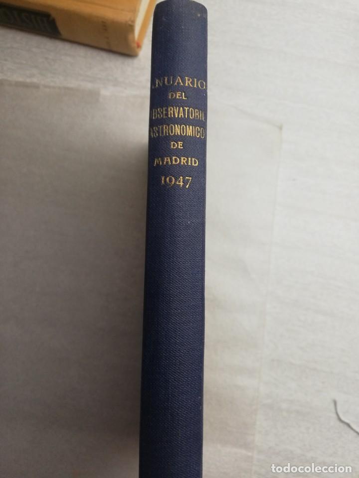 Libros de segunda mano: ANUARIO DEL OBSERVATORIO ASTRONÓMICO DE MADRID PARA 1947 - Foto 2 - 240356760