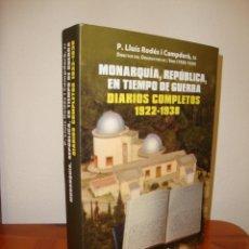 Libros de segunda mano: DIARIOS COMPLETOS 1922-1938 - P. LLUÍS RODÉS I CAMPDERÀ, DIRECTOR DE L'OBSERVATORI DE L'EBRE. Lote 244783660
