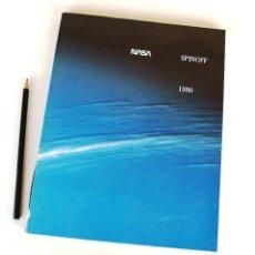 Libros de segunda mano: NASA SPINOFF 1990 (PUB. ORIGINAL) ANUARIO DIVULGACIÓN PROGRAMAS, TECNOLOGÍAS Y APLICACIONES, 156 PP. Lote 249596280