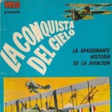 Libros de segunda mano: LA CONQUISTA DEL CIELO. LA APASIONANTE HISTORIA DE LA AVIACIÓN. DONCEL. COLECCIÓN TRINCA. 1970. Lote 251054120