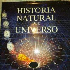 Libros de segunda mano: HISTORIA NATURAL DEL UNIVERSO. COLIN A. RONAN. EDICIONES DEL PRADO. AÑO 1992. CARTONÉ CON SOBRE CUBI. Lote 277646718