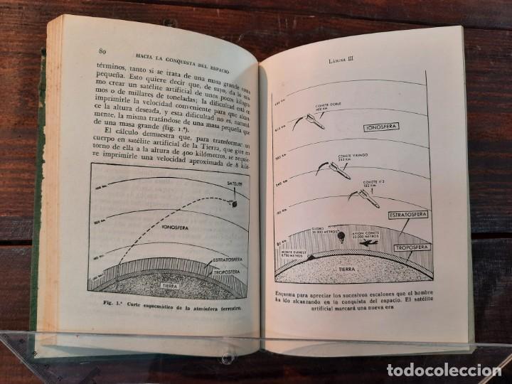 Libros de segunda mano: EL SATELITE ARTIFICIAL: HACIA LA CONQUISTA DEL ESPACIO - IGNACIO PUIG - EDICIONES BETIS, 1956, BCN - Foto 7 - 251992185