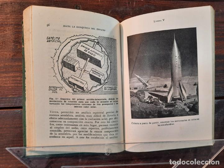 Libros de segunda mano: EL SATELITE ARTIFICIAL: HACIA LA CONQUISTA DEL ESPACIO - IGNACIO PUIG - EDICIONES BETIS, 1956, BCN - Foto 8 - 251992185