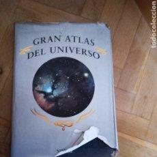 Libros de segunda mano: GRAN ATLAS DEL UNIVERSO. PATRICK MOORE. Lote 253062635