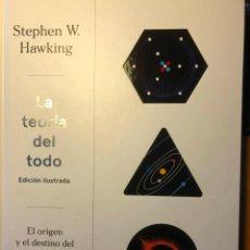 Livros em segunda mão: LA TEORÍA DEL TODO (STEPHEN HAWKING). Lote 254265610
