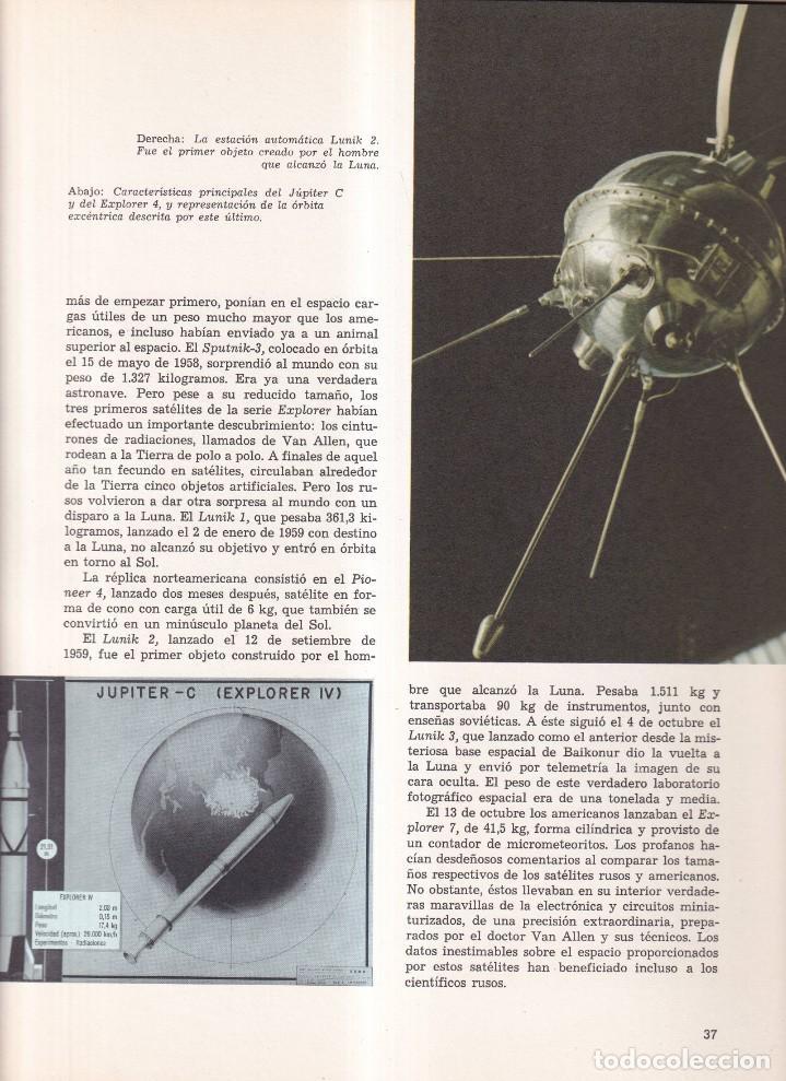 Libros de segunda mano: LA ASTRONAUTICA - ANTONIO RIBERA - PLAZA JANÉS 1975 - Foto 3 - 257715010