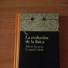 Libros de segunda mano: LA EVOLUCIÓN DE LA FÍSICA. ALBERT EINSTEIN. LEOPOLS INFELD. BIBLIOTECA CIENTÍFICA SALVAT. Lote 262987090