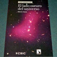 Libros de segunda mano: LIBRO EL LADO OSCURO DEL UNIVERSO - ¡NUEVO!. Lote 268717304